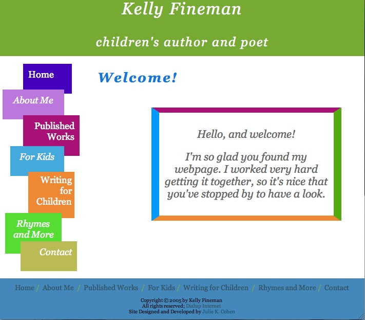 Kelly's Website