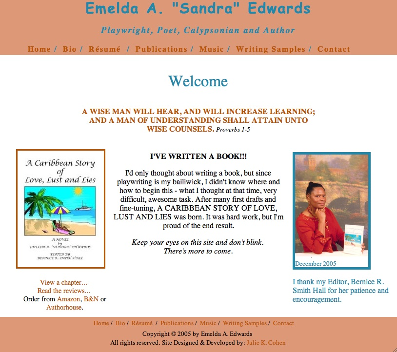 Sandra's Website